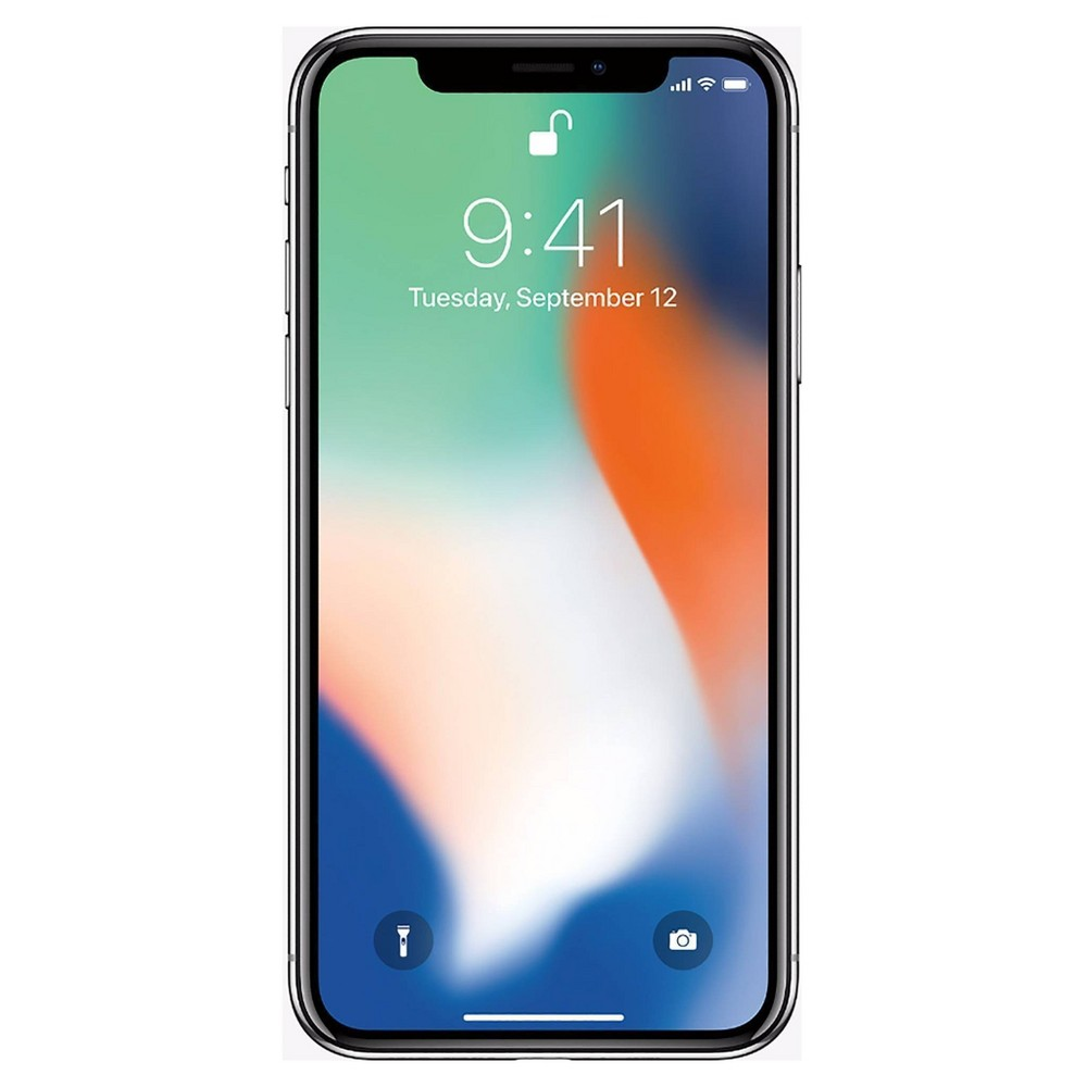 Apple iPhone X Pre-Owned (GSM-Unlocked) 256GB - Silver