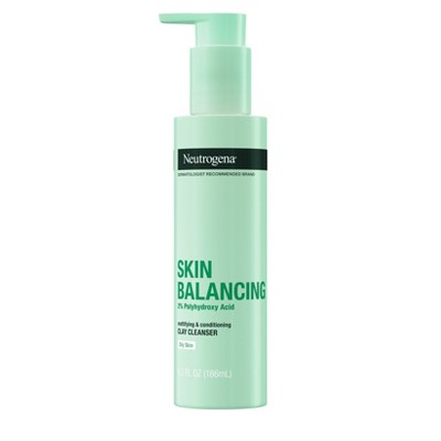 Neutrogena Skin Balancing Mattifying Clay Cleanser - 6.3 fl oz