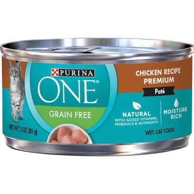 Purina ONE Grain-Free Chicken Wet Cat Food - 3oz
