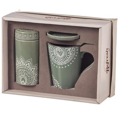 Evergreen Flag Tea Gift Set, 9 OZ., Tea Lace
