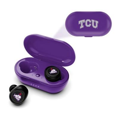 NCAA TCU Horned Frogs True Wireless Bluetooth Earbuds
