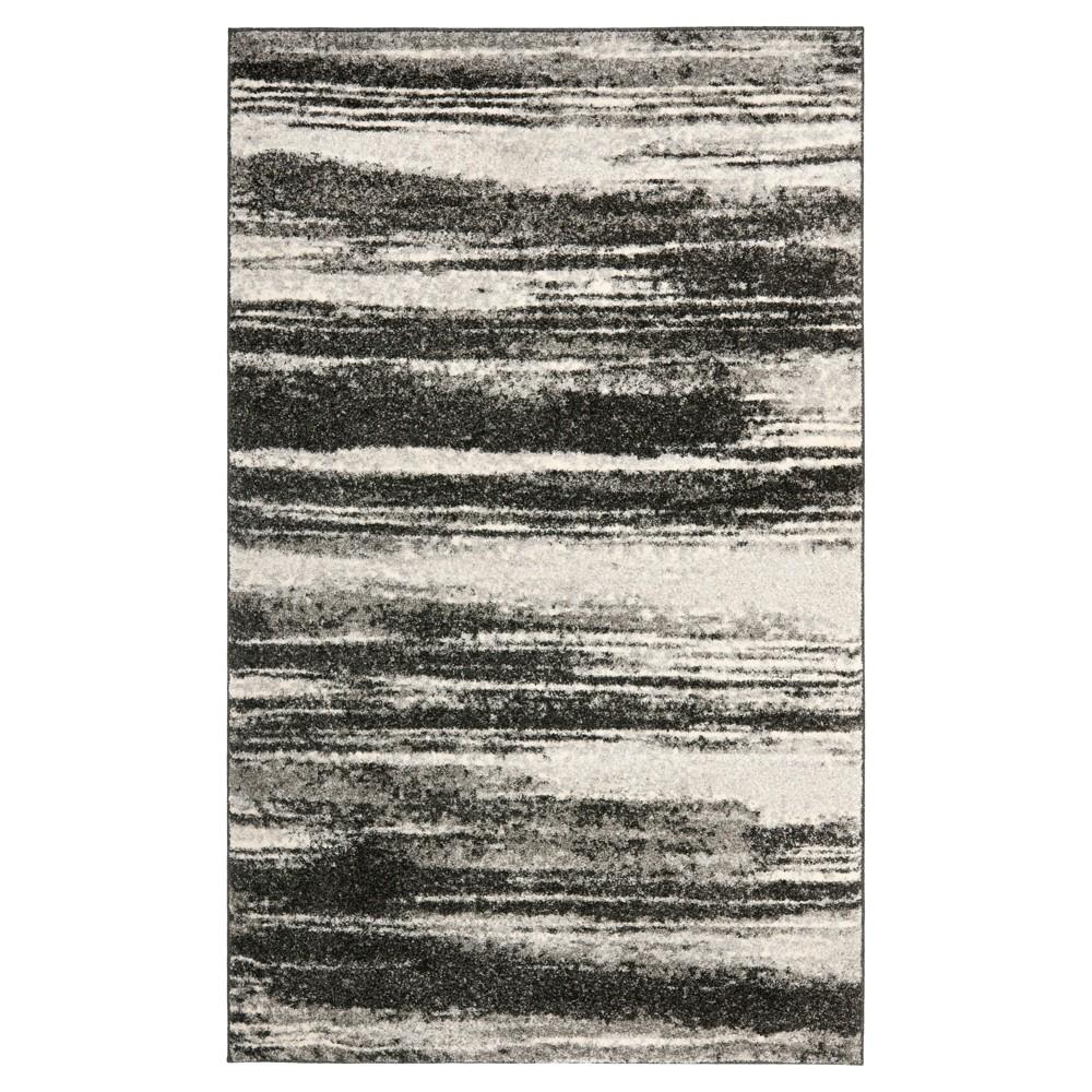 Ulla Area Rug - Dark Gray / Light Gray (11' X 15') - Safavieh