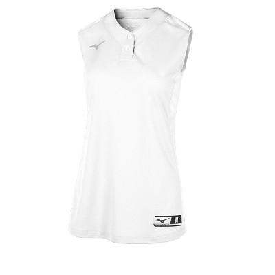 Mizuno Youth Aerolite 2-Button Softball Jersey Sleeveless