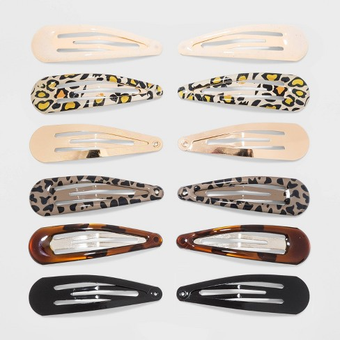 Snaps Hair Clips 12pc - Wild Fable™ - image 1 of 1