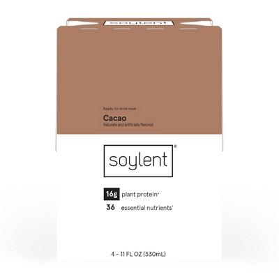 Soylent Nutritional Shake - Cacao - 4pk/11 fl oz
