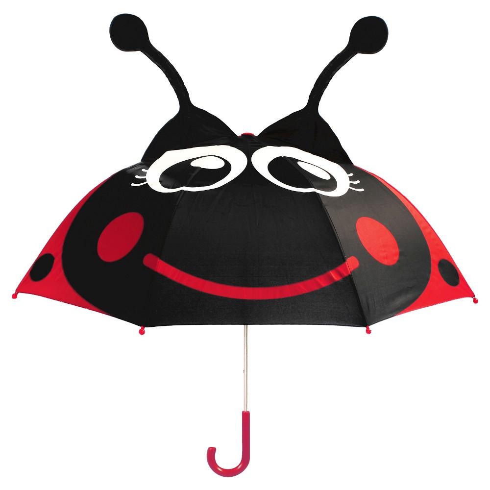 Western Chief Toddler Girls' Ladybug Umbrella - Red