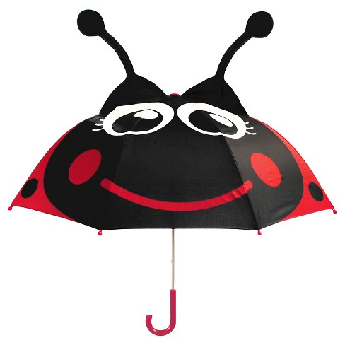 Western Chief Toddler Girls' Ladybug Umbrella - Red - image 1 of 1