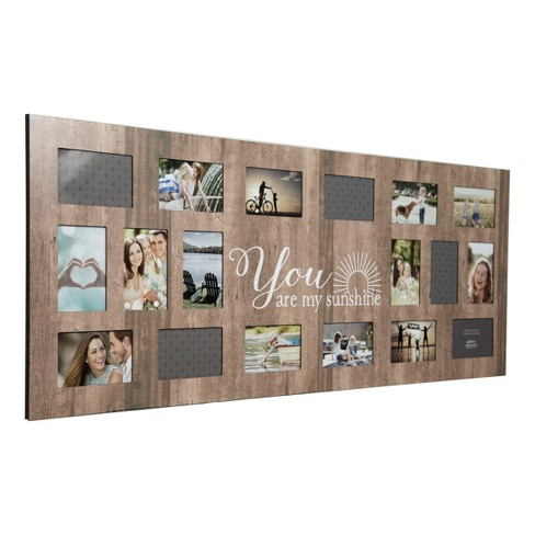 Multiple Image 18 Opening Sunshine Collage Frame Gallery Solutions Target