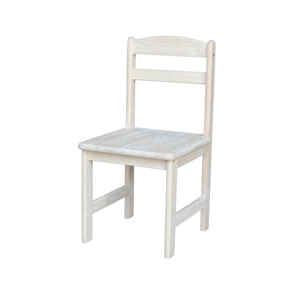 Image of Set of 2 Juvenile Chairs Wood - International Concepts