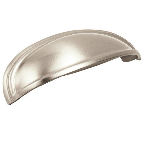"Amerock BP36640 Ashby 3 and 4"" Center to Center Cup Cabinet Pull - image 1 of 4"