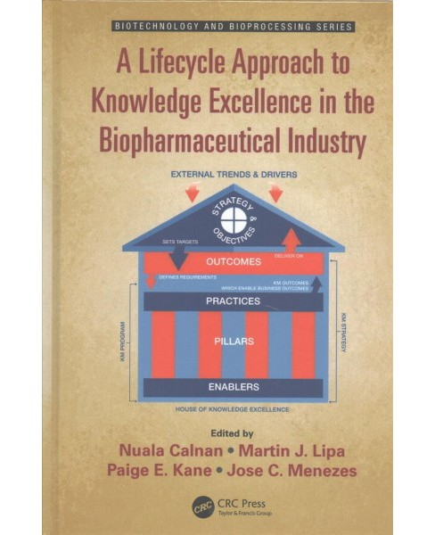 Lifecycle Approach to Knowledge Excellence in the Biopharmaceutical Industry -  (Hardcover) - image 1 of 1