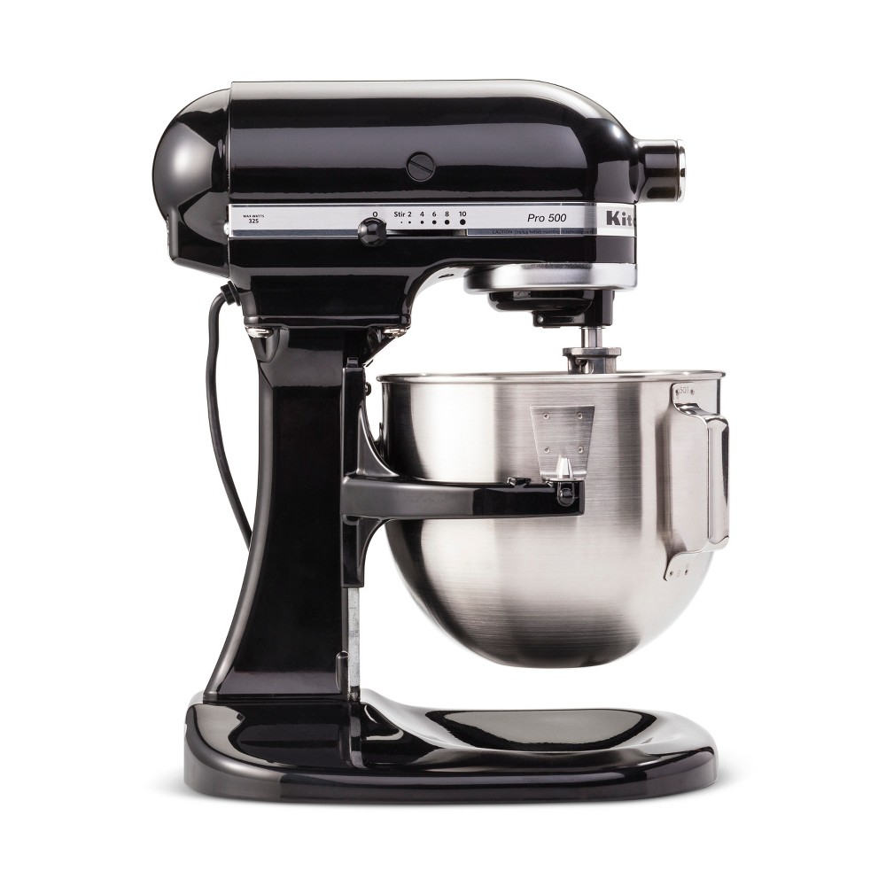 KitchenAid Refurbished Pro 500 Series 5qt Bowl-Lift Stand Mixer Onyx Black – RKSM500OB 53967751