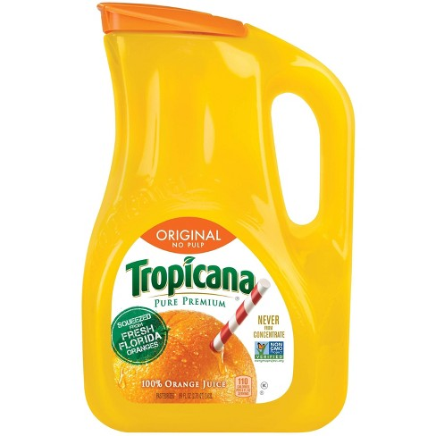 Tropicana Pure Premium No Pulp Pure 100 Florida Orange