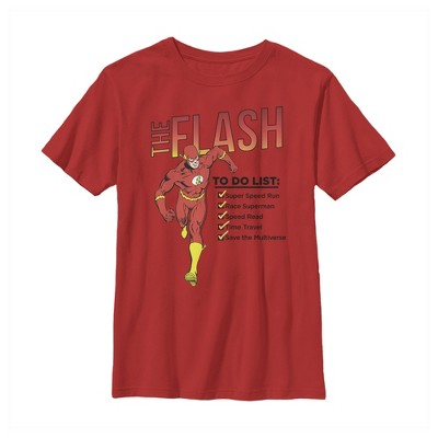 Boy's The Flash To Do List T-Shirt