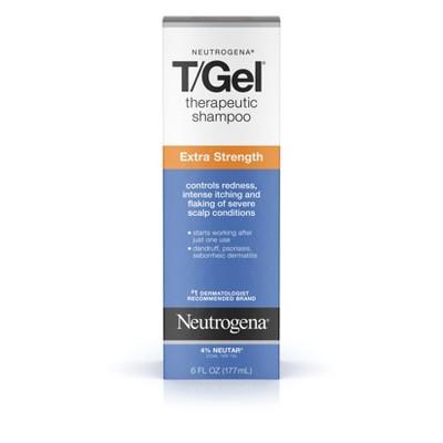 Shampoo & Conditioner: Neutrogena T/Gel Extra Strength