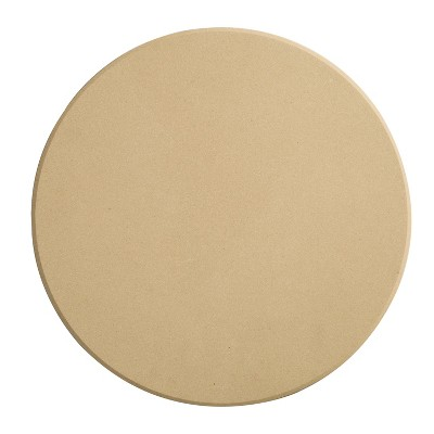 Honey-Can-Do Round Pizza Stone Natural