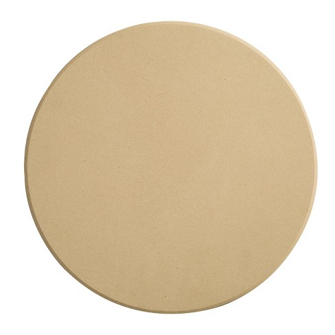 Honey-Can-Do Round Pizza Stone Natural - image 1 of 3