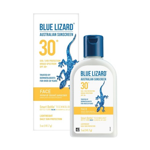 Blue Lizard Face Sunscreen Lotion - SPF 30 - image 1 of 4