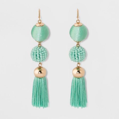 Sugarfix By Baublebar Ball Drop Earrings With Tels