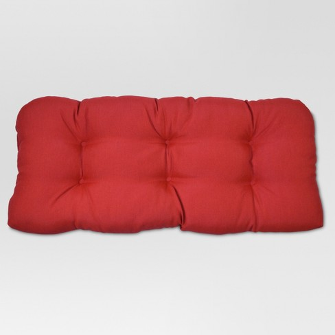 Tufted Settee Solid - Threshold™ - image 1 of 1