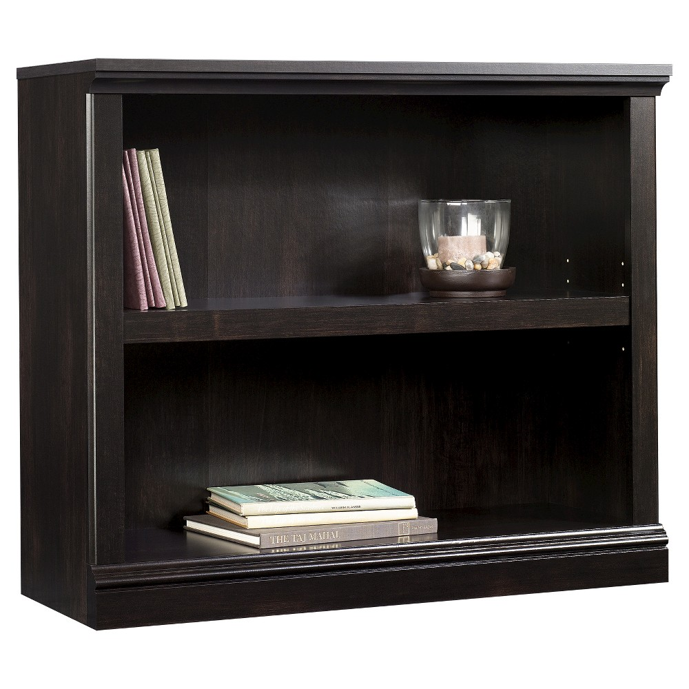 "Image of ""29.9"""" 2 Shelf Bookcase Estate Black - Sauder"""
