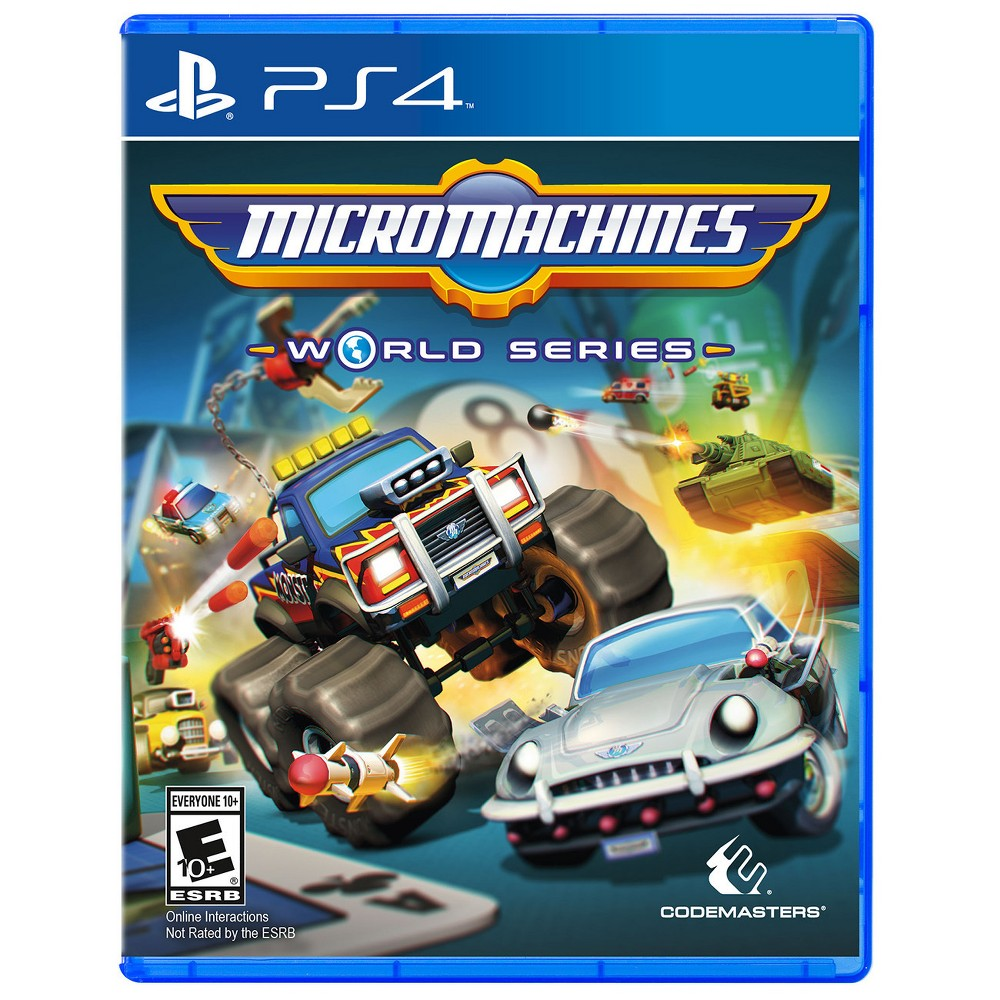 Micro Machines: World Series PlayStation 4