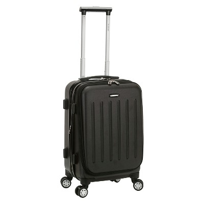 "Rockland Titan 19"" Polycarbonate/ABS Spinner Carry On Suitcase"