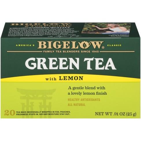 Bigelow Green Tea Bags with Lemon - 20ct - image 1 of 4