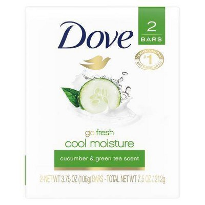 Bar Soap: Dove Beauty Bar Go Fresh