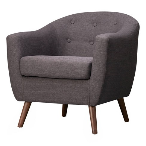 Aidan Mid Century Accent Chair - Poly & Bark - image 1 of 4