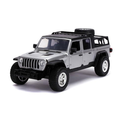 Jada Toys Fast & Furious F9 Jeep Gladiator 1:24 Scale Die-Cast Vehicle - Silver - image 1 of 4