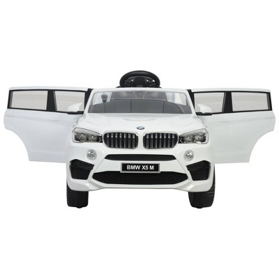 Best Ride on Cars 12V BMW X5 Powered Ride-On - White