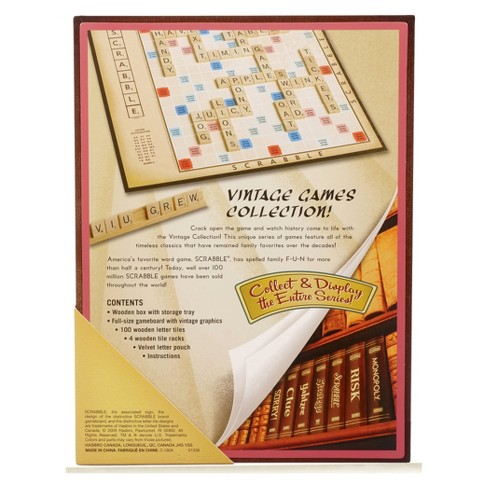 Vintage Game Collection Scrabble Board Target