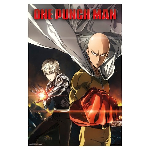 One Punch Man Key Art 1 Poster 34x22 - Trends International - image 1 of 2