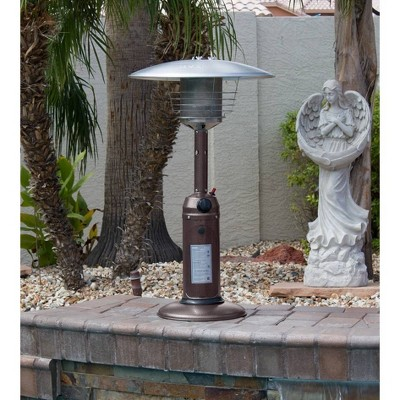 Portable Hammered Finish Patio Heater - Golden Bronze - AZ Patio Heaters