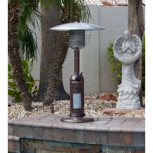Portable Hammered Finish Patio Heater