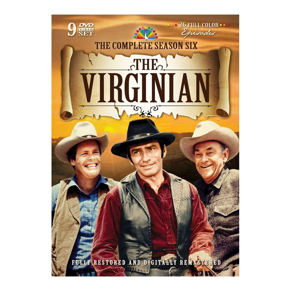 Virginian:Complete Sixth Season (Dvd)