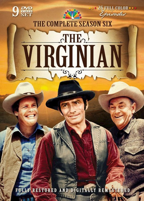 Virginian:Complete sixth season (DVD) - image 1 of 1
