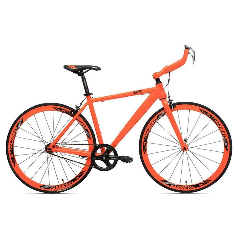 Rapid Cycle Evolve Bullhorn Road Bike 21 - Orange
