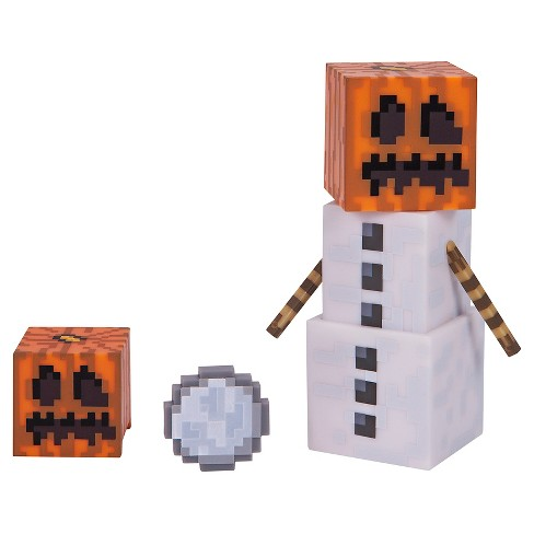 Minecraft - Snow Golem With Accessories Pack Series 3 - image 1 of 2