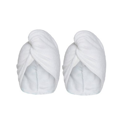 Turbie Twist Microfiber Hair Towels - 2pk