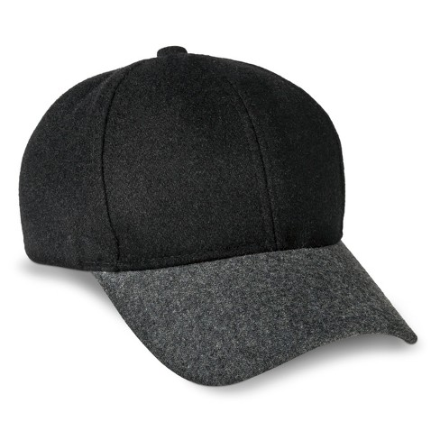 Women's Gray Brim Baseball Hat - Xhilaration™ Black - image 1 of 2