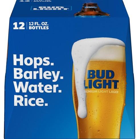 Bud Light Beer - 12pk/12 fl oz Bottles - image 1 of 1