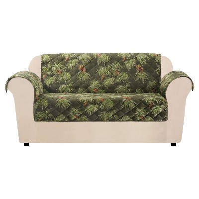 Furniture Flair Pinecone Loveseat Cover - Sure Fit