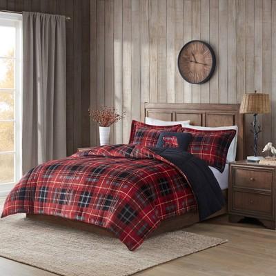 Alton Plush/Sherpa Down Alternative Comforter Set
