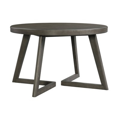 Hudson Round Dining Table Gray - Picket House Furnishings