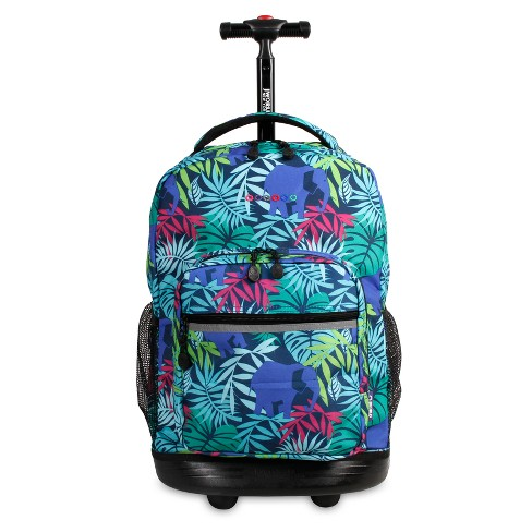 "J World 18"" Sunrise Rolling Backpack - Savana - image 1 of 7"