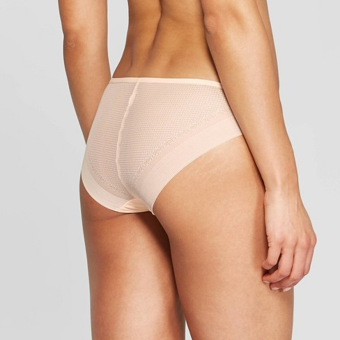 b27e04a25a6b Women's Laser Cut Cheeky Bikini With Mesh Back - Auden™ : Target