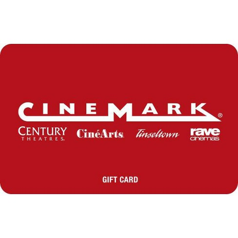 Cinemark Theatres $20 (Email Delivery) - image 1 of 1