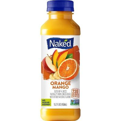 Naked Juice All Natural Orange Mango - 15.2 fl oz